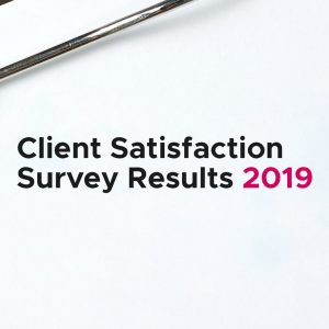 Client Satisfaction Survey Results 2019