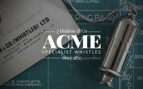 Acme Whistles design partnership with 52 degrees north