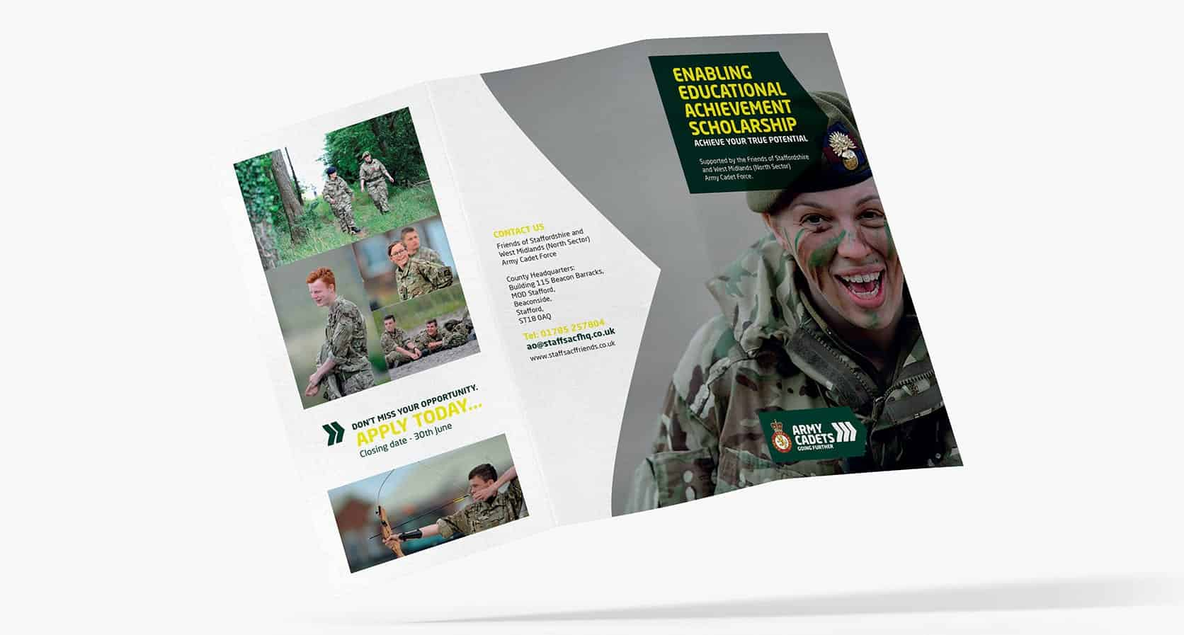 Army Cadets DL Leaflet Outer