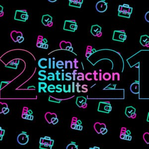 Client satisfaction survey results 2020 are in…