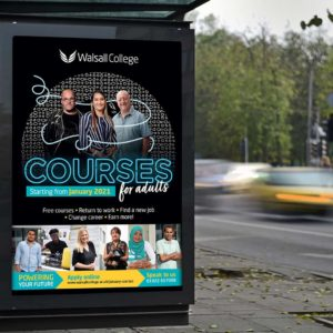 Walsall College Adult Courses Campaign